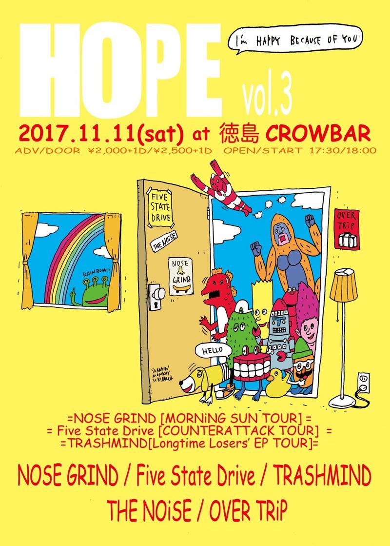 """4th Demo """"COUNTERATTACK"""" Release Tour / HOPE vol.3"""